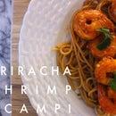 Sriracha Shrimp Scampi