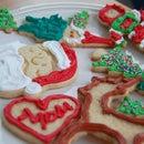 Holiday Sugar Cookies with Royal Icing