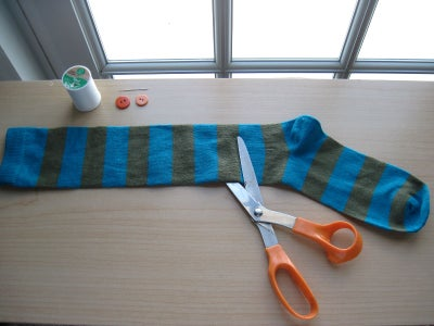 Creating the Creature - Cut the Sock