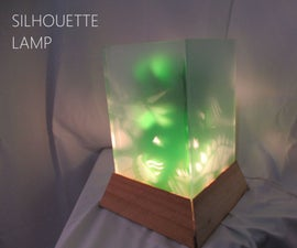 Silhouette Projector Lamp.