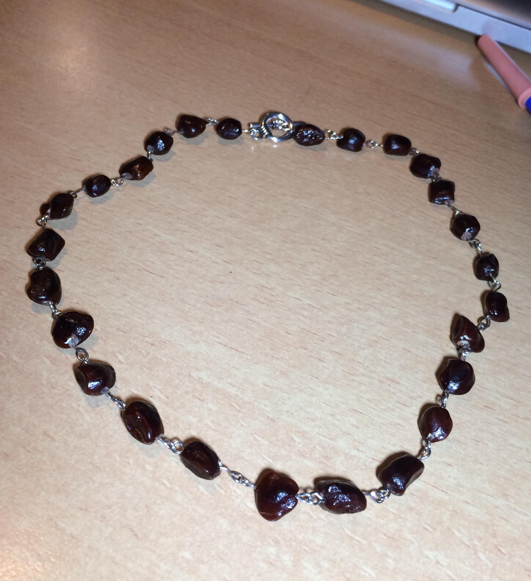 Picture of Unique Tamarind Beaded Necklace