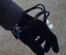 Sonar Glove for the Visually Impaired