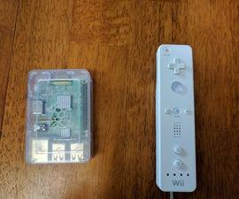 Wiimote Controller Configuration for Raspberry Pi 2/3