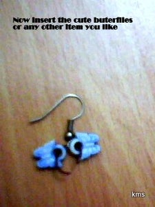 How to Make a Pair of Cute Earrings at Home in 5minutes!