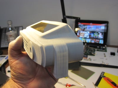 Rapid Prototyping and Cleaning Up 3D Prints