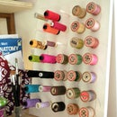 How to make a wooden spool thread holder
