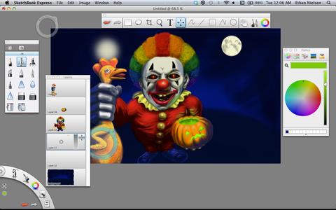 Make That Clown Creepy
