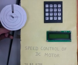 Speed control of DC motor with 8051