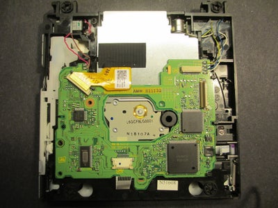 Removing the Disk Drive
