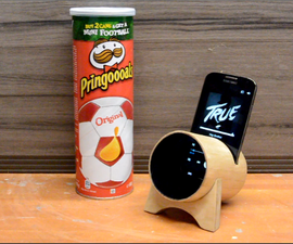 From Pringles box to Acoustic Amplifier