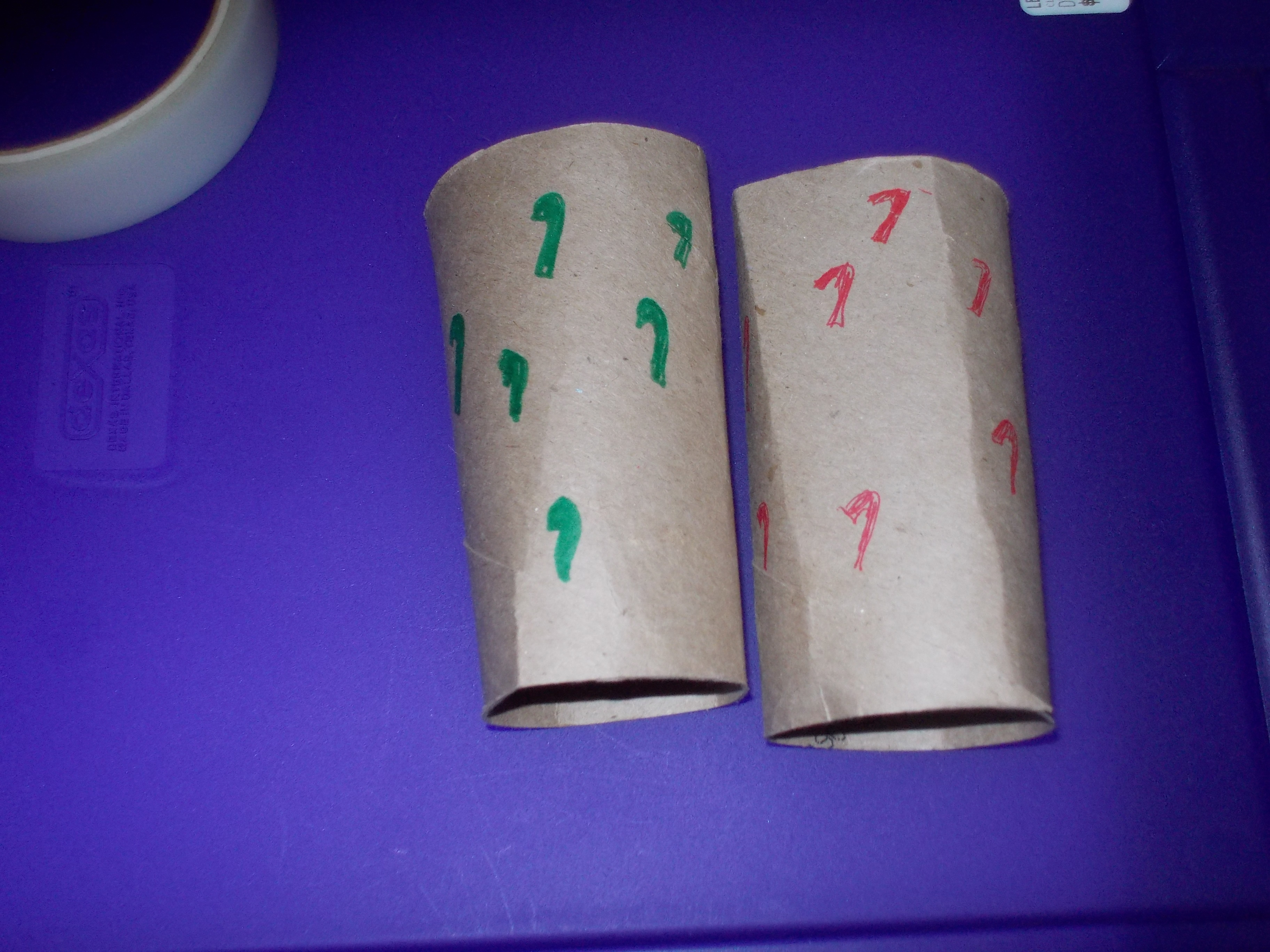 Picture of Put Tissue Rolls Together