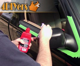 How to Restore Faded Rubber or Plastic Trim