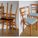 Dining Chair Makeover: DIY Upholstered Chairs