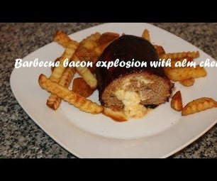 Barbecue Bacon Explosion With Alm Cheese Recipe