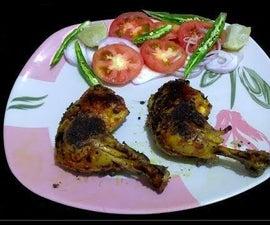Tandoori Chicken in a Pan