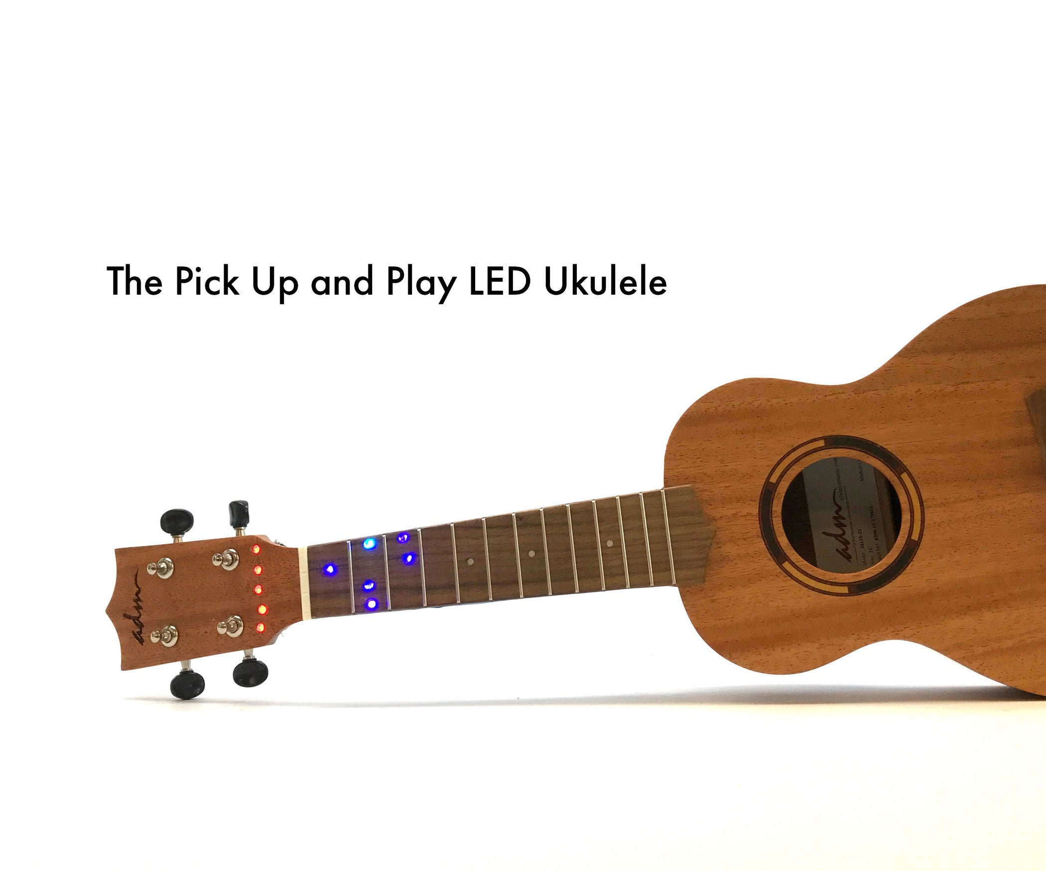 LED Ukulele : 6 Steps (with Pictures)