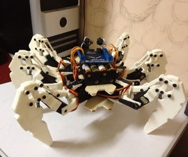Hexapod Robot based on FPGA
