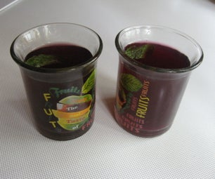 Hibiscus Tea With Fresh Flowers and Honey
