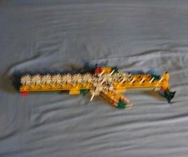 Knex semi auto rubberband gun