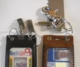 ID Badge Holder or Luggage Tag
