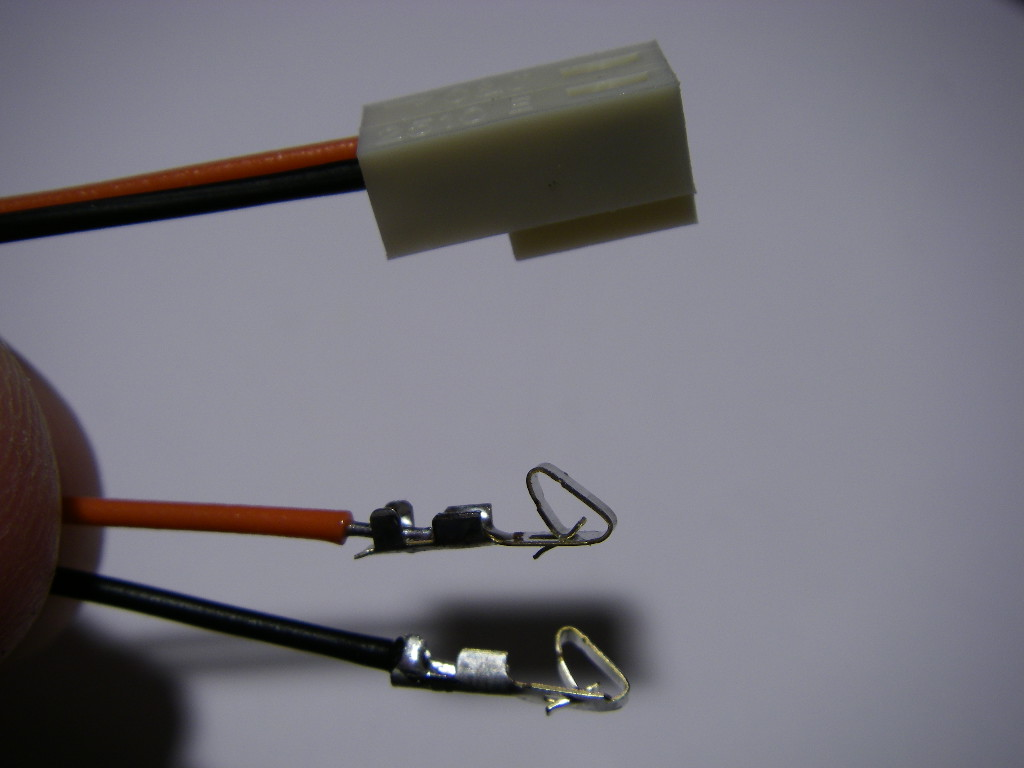 Picture of The LED Sockets.