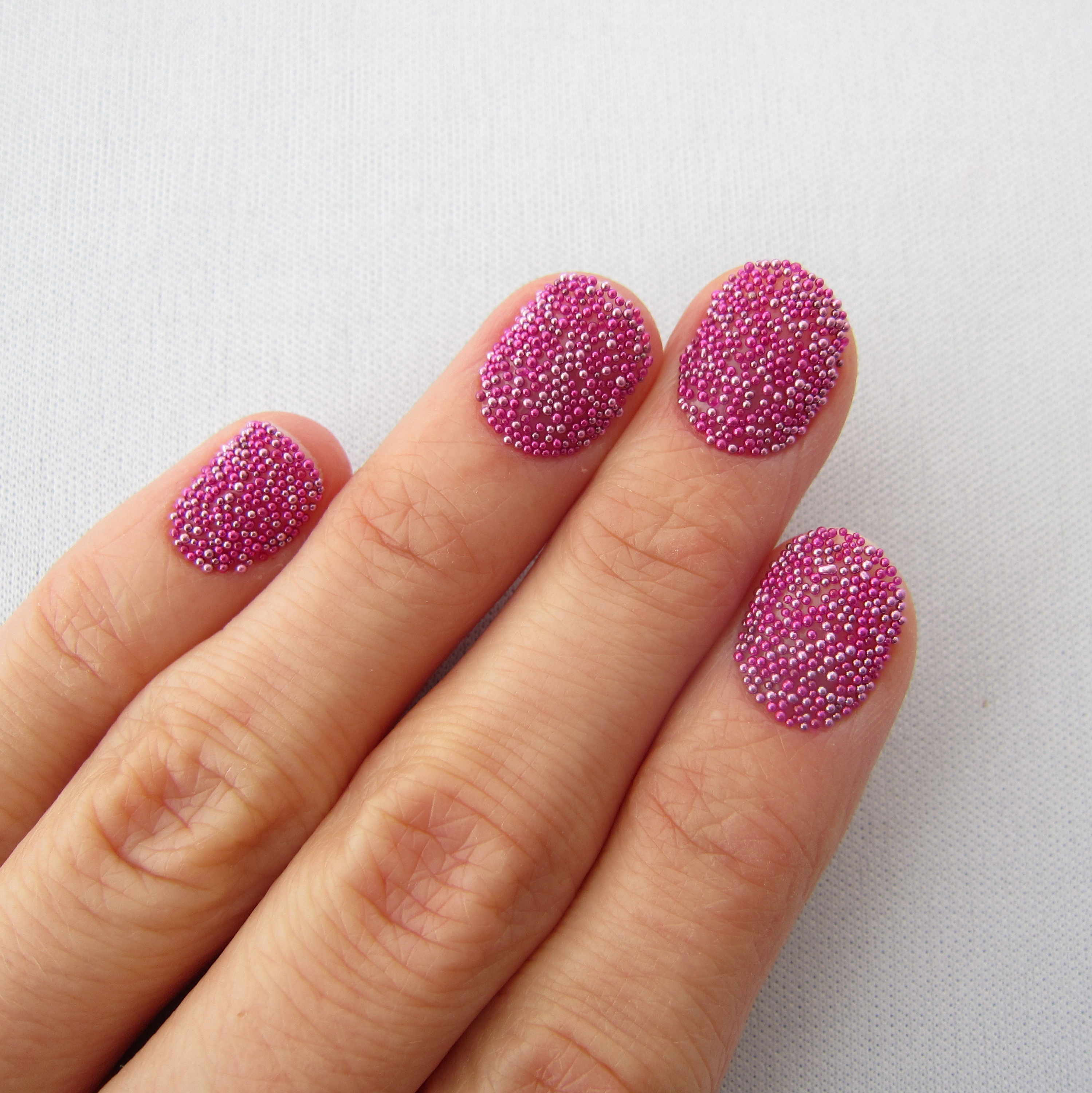 Picture of Caviar Nails - a Good Idea?