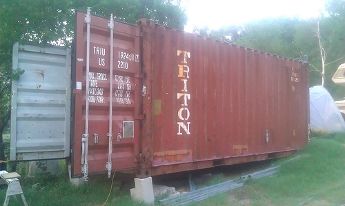 How to Get a Shipping Container