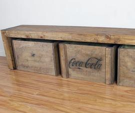 DIY Vintage Crates