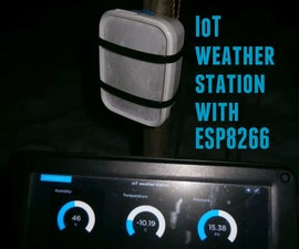 IoT Weather Station With Adafruit HUZZAH ESP8266 (ESP-12E) and Adafruit IO (UPDATED)