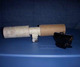 easy cardboard nerf scopes