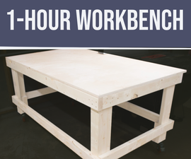 DIY 1-Hour Workbench / Outfeed Table