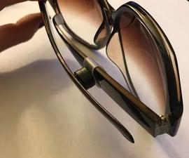 No Slip Adjustable Glasses Holder