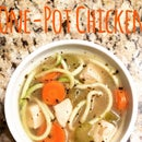 """One-Pot Chicken """"Zoodle"""" Soup"""