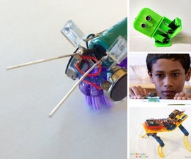 FunBots - Robots of Adventure, Creativity, Simplicity, and Fun for Everyone to Make