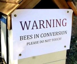 Native bee hive