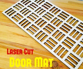 Laser Cut Door Mat