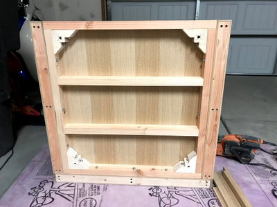 Attach Bottom Panel to Sides and Back
