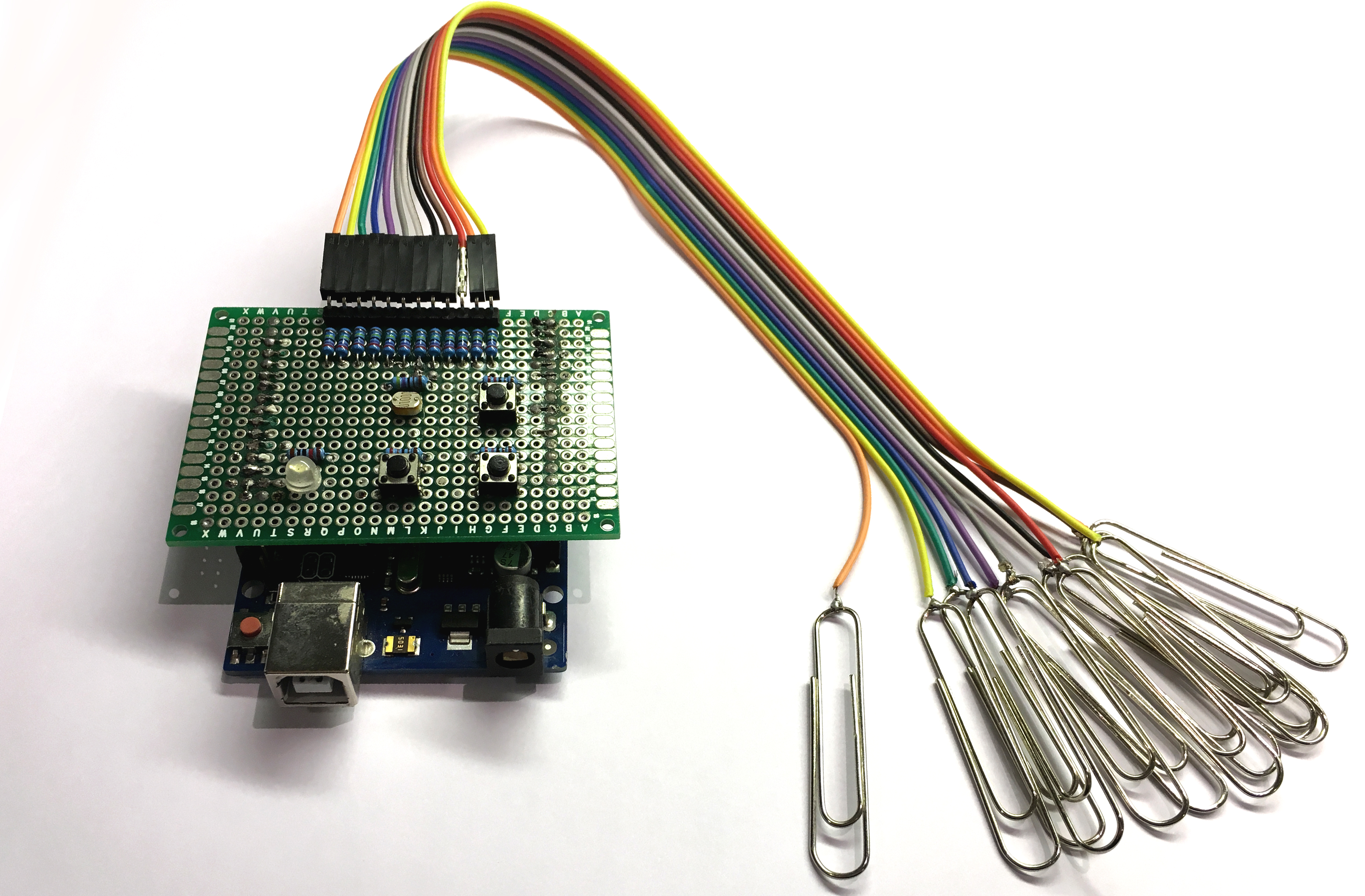 Picture of How to Make a Cheap Arduino MIDI Controller