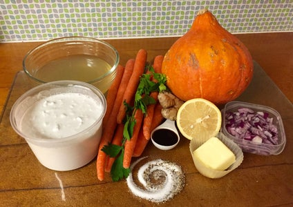 Ingredients and Kitchen Equipment