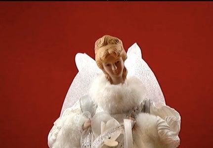 Animated Christmas Angel Topper