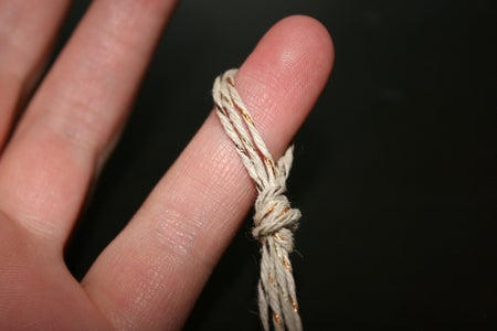 Knotted Hemp Cord Technique