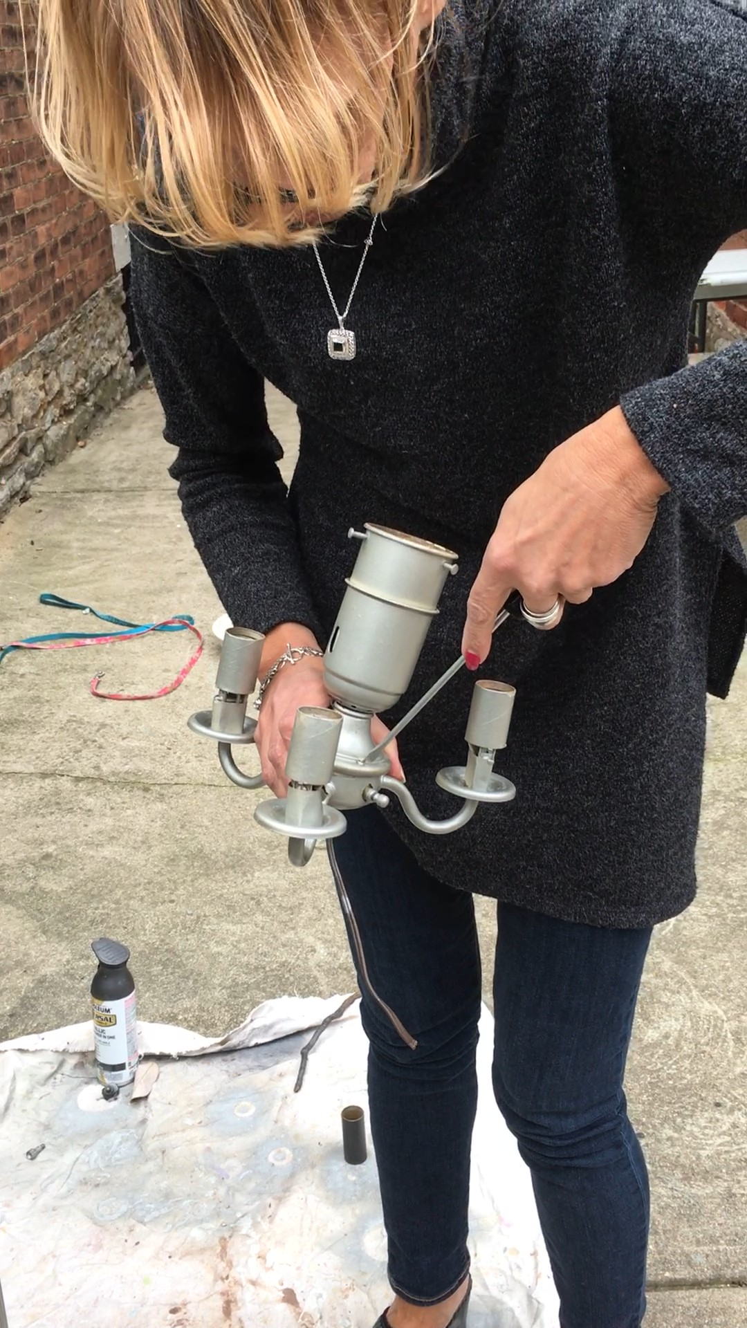 Picture of Begin the Rewiring of the Lamp