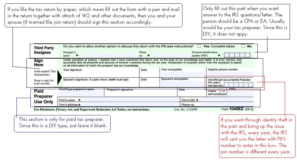 How To Prepare 1040 Ez Tax Return As Student 8 Steps