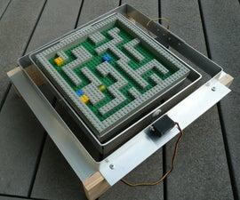 Servo Controlled Marble Maze