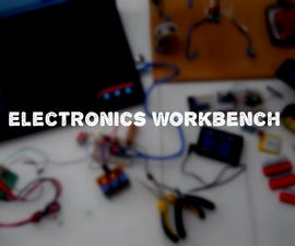 Make A One Desk Electronics Lab (in a small place, for beginners)
