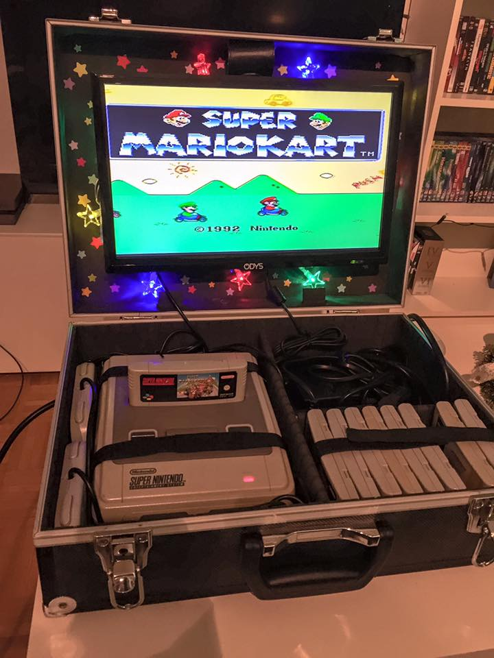 Picture of Simple Portable Super Nintendo System