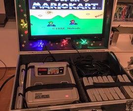 Simple Portable Super Nintendo System