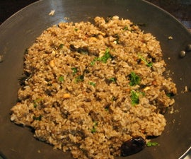 How to Prepare Sesame Spiced Rice