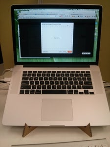 DIY Macbook Pro Retina Stand