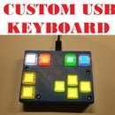 Universal USB Keyboard With RGB Switches